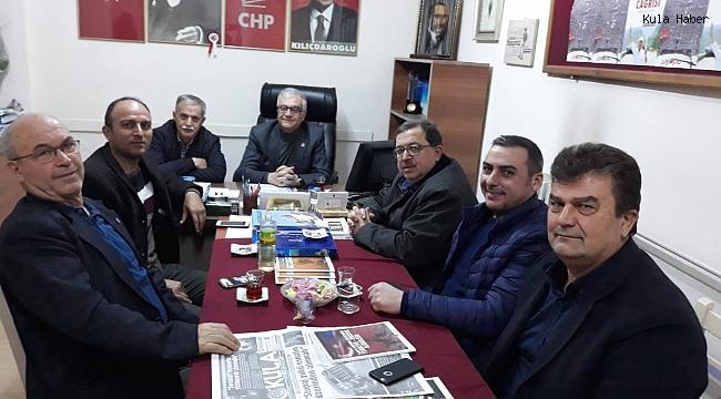 STK başkanlarından Kasırga'ya ziyaret