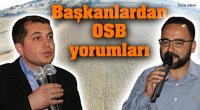 Başkanlardan OSB yorumları