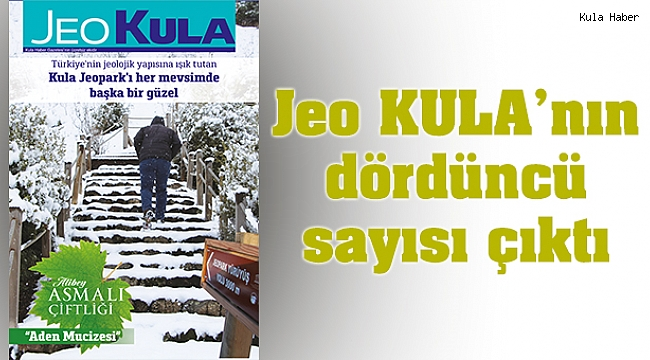 Jeo KULA'nın dördüncü sayısı çıktı