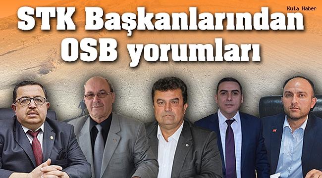 STK Başkanlarından OSB yorumları