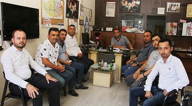 Gelecek Partisi Manisa Teşkilatı'ndan gazetemize ziyaret