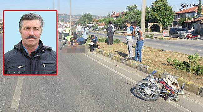 Motosikleti ile yayaya çarpan belediye personeli yaşama tutunamadı