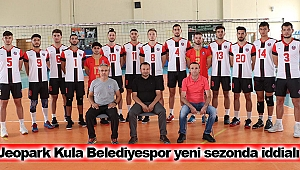 Jeopark Kula Belediyespor yeni sezonda iddialı
