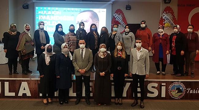 AK Parti Kula Kadın Kolları'nın 6.Olağan kongresi gerçekleştirildi