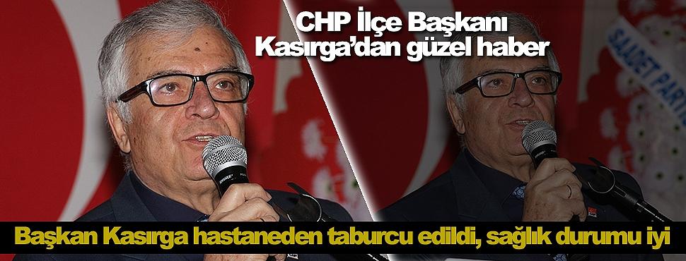 CHP İlçe Başkanı Kasırga'dan güzel haber