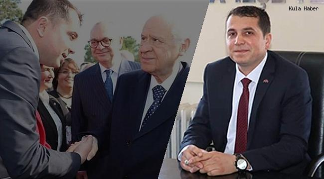 MHP Kula İlçe Başkanı Nazım Baytok'un testi pozitif çıktı