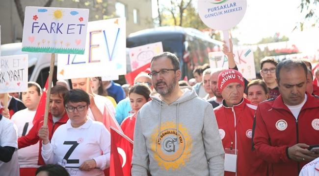 GENÇLİK VE SPOR BAKANLIĞI'NDAN 'GÖNÜLLÜLÜK' SEFERBERLİĞİ