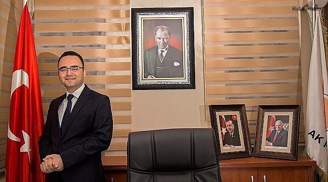 AK Parti Kula İlçe Başkanı Palabıyık'tan Regaip Kandili Mesajı