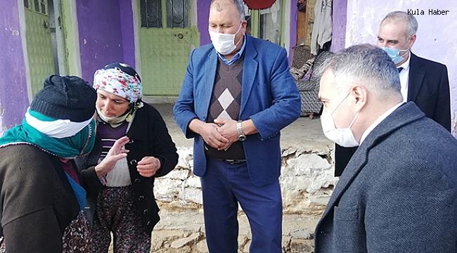 Kaymakam Duru'dan mahalle ziyaretleri
