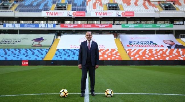 """TÜRKİYE'MİZİN STATLARI, SALONLARI DÜNYANIN ÖNCÜ TESİSLERİ OLDU"""""""