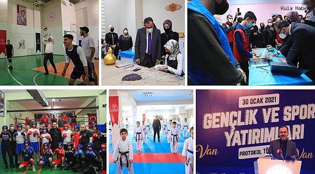 """""""VAN'IN HER YERİNDE YENİ TESİSLERİ HALKIMIZLA BULUŞTURACAĞIZ"""""""