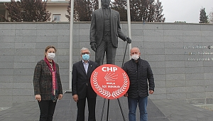 Kula CHP'den alternatif tören