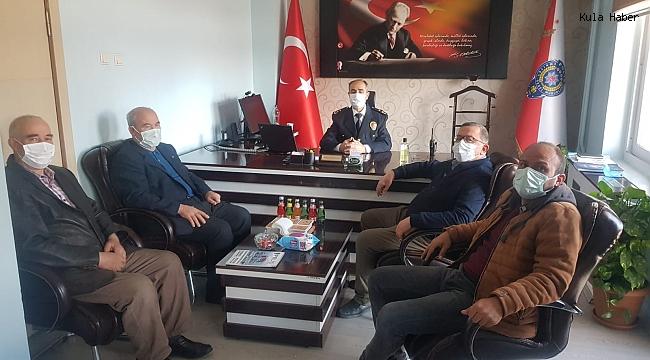 STK başkanlarından Emniyet Müdürü Demirkıran'a ziyaret