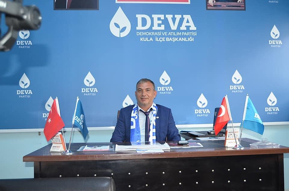 DEVA Partisi İlçe Başkanı Biçer'den bayram mesajı