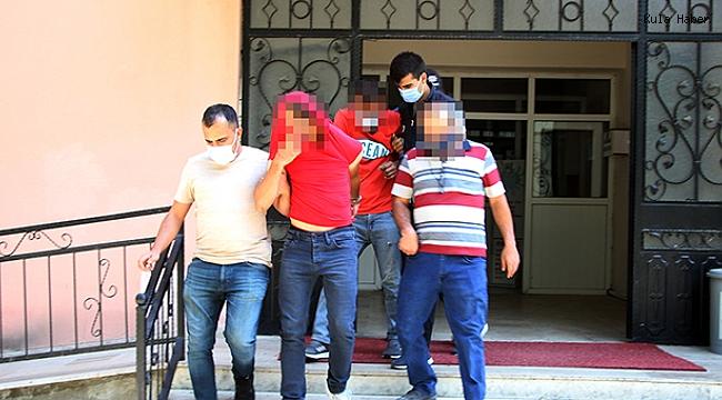 Hırsızlık şüphesiyle gözaltına alınan 2 şüpheli tutuklandı