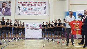 Jeopark Kula Belediyespor'un sağlık ana sponsoru Salihli Özel Can Hastanesi oldu