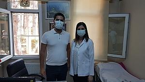 Ortopedi doktoru hasta kabulüne başladı
