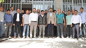AK Partili Akkal'dan sanayi esnafına ziyaret