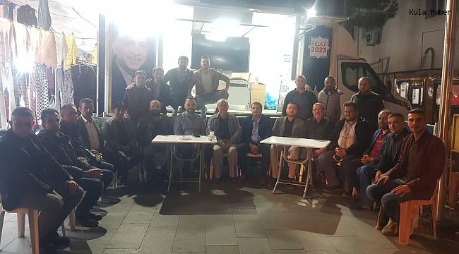 MHP Teşkilatı'nda AK Parti standına ziyaret