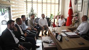 Milletvekili Akkal, Başkan Yiğen'i ziyaret etti