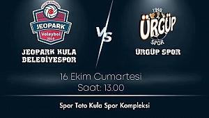 Jeopark Kula, ilk iç saha maçında Ürgüp Spor'u konuk edecek