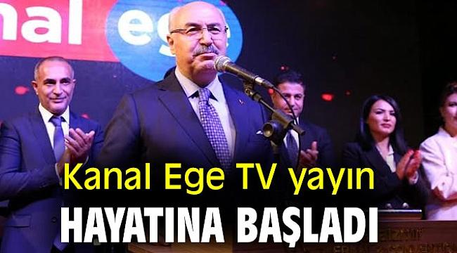 Kanal Ege TV yayın hayatına merhaba dedi!