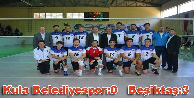 Kula Belediyespor:0   Beşiktaş:3
