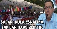BAYRAM ÖNCESİ KULA ESNAFINA YAPILAN HAKSIZLIKTIR.