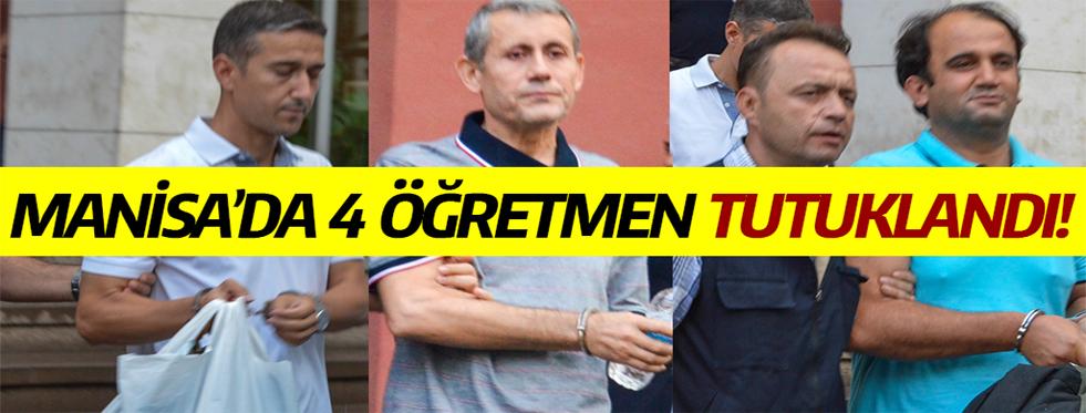 4 Öğretmen FETÖ Soruşturması Kapsamında Tutuklandı