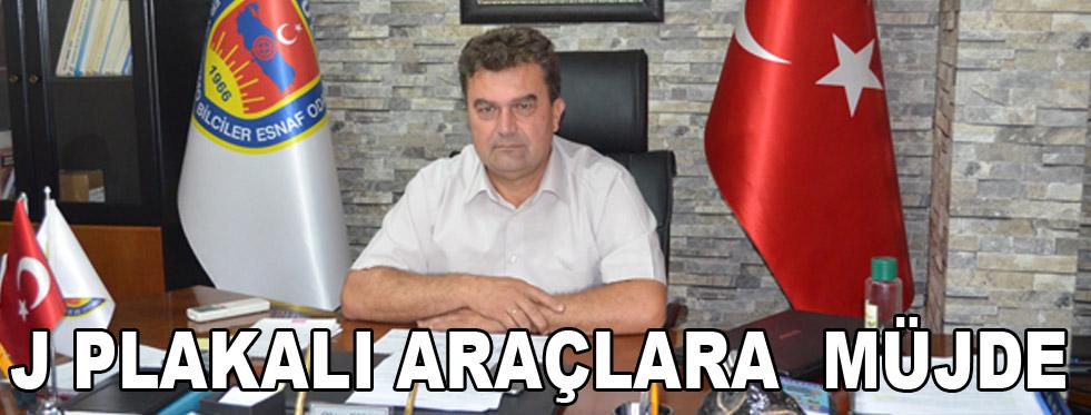J PLAKALI ARAÇ SAHİPLERİNE  MÜJDE