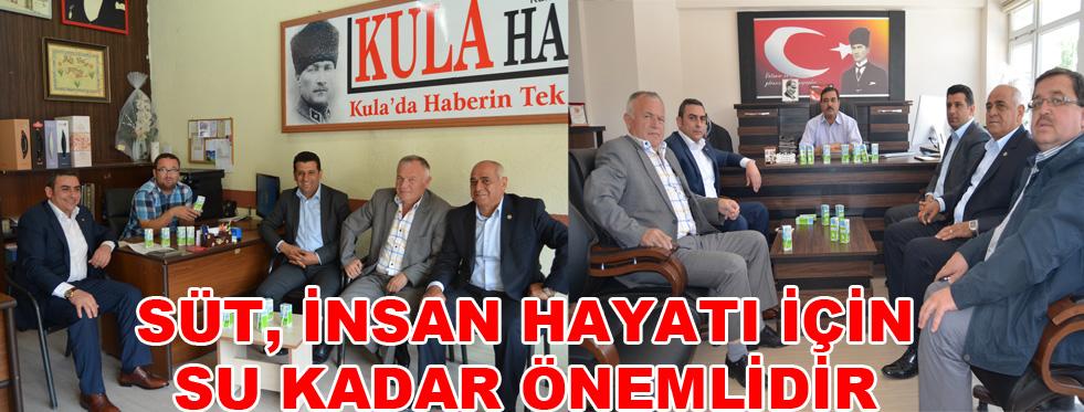 """""""SÜT, İNSAN HAYATI İÇİN SU KADAR ÖNEMLİDİR"""""""